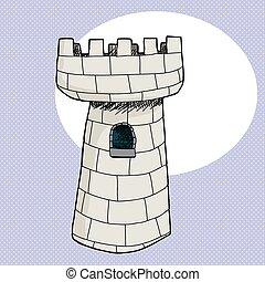 věž, věž