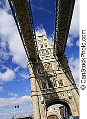 vě lávka, do, londýn