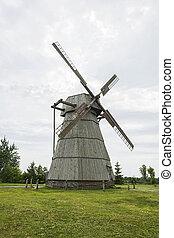 větrný mlýn, mouka, grán, šprtat
