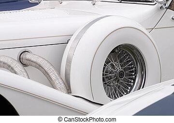 vůz, drobnosti, klasik