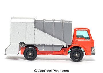 vůz, odpad, hračka, dávný