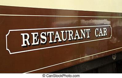 vůz, restaurace