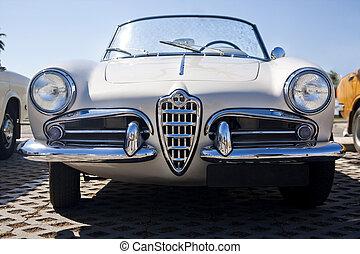 vůz, seventies, klasik