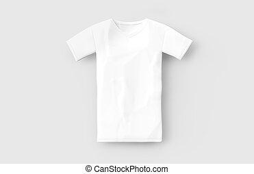 White Vneck Shirt Mockup Template Blank Tshirt Mock Up Front And - Blank tshirt template