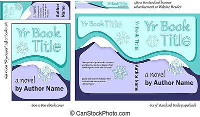 V Versatile Blue Book COVER Design - Eye-catching Book Cover...