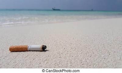 v01735, malediven, schöne , sandstrand, hintergrund, weißes,...