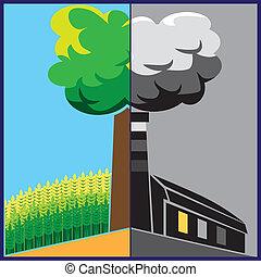 v2 , οικολογία