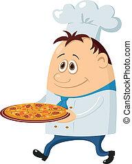 vařit, pizza