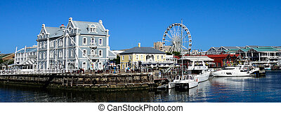 V&A waterfront Cape Town, South Africa - Victoria and Albert...