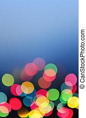 vaag, christmas lights