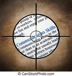 vaardigheden, communicatie, doel