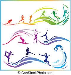 vaardigheden, sportende