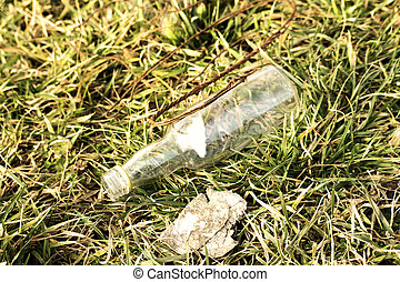 vacío, botella