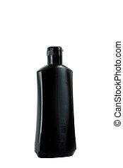 vacío, botella, plástico