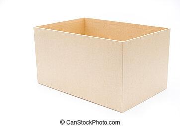 vacío, caja