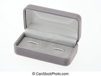 vacío, caja de la joyería