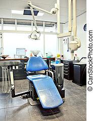 vacío, dental, habitación