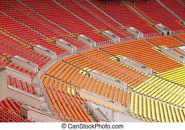 vacío, estadio