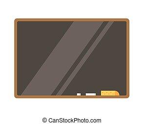 vacío, tabla, isolated., espalda, a, school., educación, objetos, universidad, colegio, símbolos, o, conocimiento, book., acción, diseñe elementos