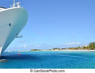 vacaciones, crucero