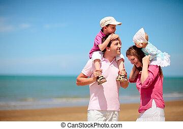 vacaciones de familia