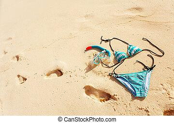 vacaciones de playa, naturaleza muerta
