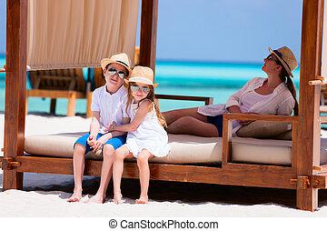 vacaciones del verano, familia