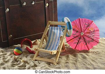 vacaciones, viaje