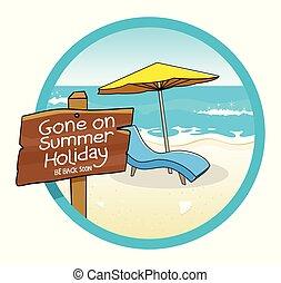 vacances été, signe