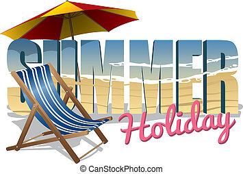 vacances été, texte