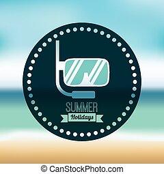 vacances, été