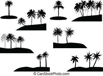 vacances, fête, plage