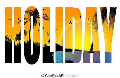 vacances, titre