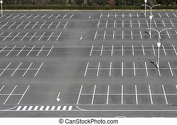Vacant parking lot