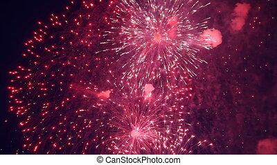 vacanza,  fireworks