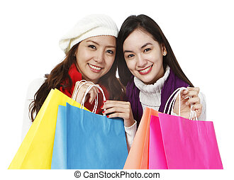 vacanza, shopping
