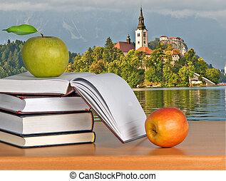 Vacation at Bled lake