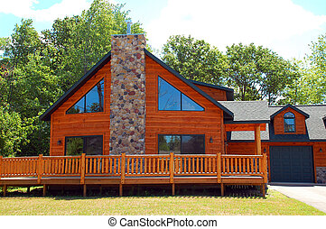 Vacation cabin - Vacation log cabin