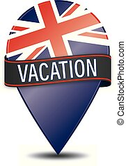VACATION glossy web pointer