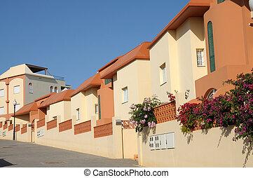 Vacation homes. Canary Island Fuerteventura, Spain