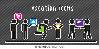 vacation icons