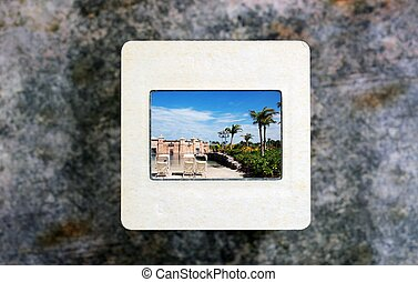 Vacation on slide film