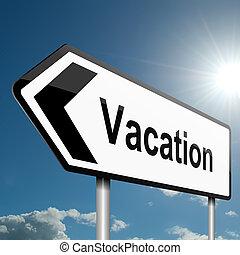 vacation., tempo