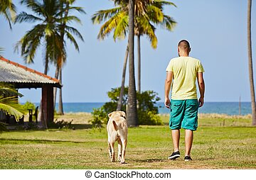 Vacation with dog