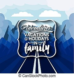 vacations in family  design