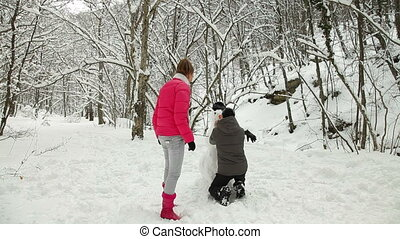 Vacations In The Winter Forest