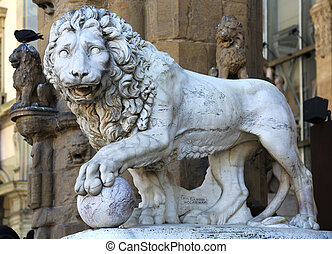 Vacca Lion Loggia dei Lanzi