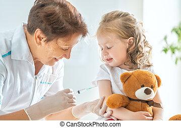vaccination, enfant