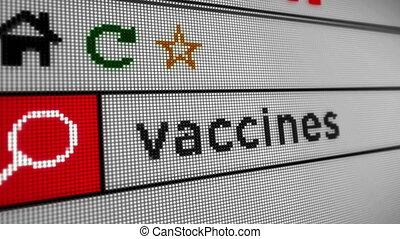 vaccins, recherche, internet