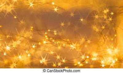 vacker, apelsin, stjärnor